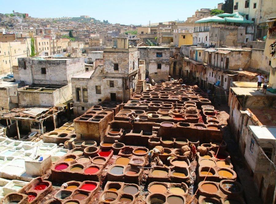 Reise in Marokko, Mitten in der Altstadt von Fes