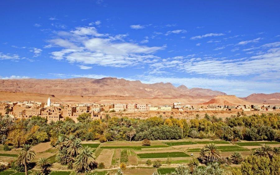 Reise in Marokko, Oasenstadt