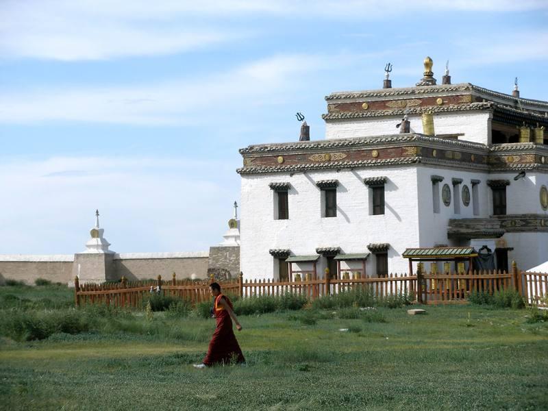 Reise in Mongolei, Klosteranlage Erdene Zuu bei Karakorum