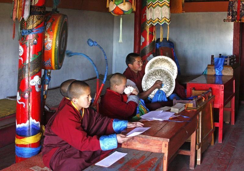 Reise in Mongolei, Tempel Tuwkhun - Copyright by Wrissenberg