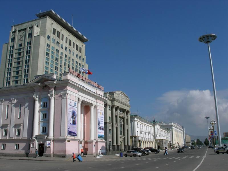 Reise in Mongolei, Zurück in Ulaanbaatar