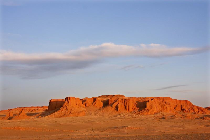 Reise in Mongolei, Die glühenden Felsen - Copyright by Wrissenberg