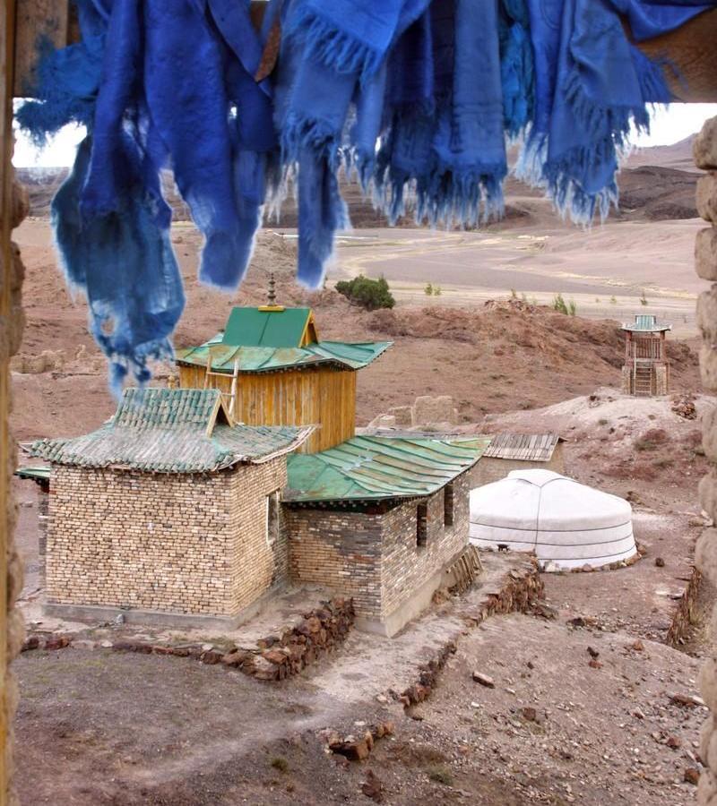 Reise in Mongolei, Ruinen des Tempels Onggin_Copyright Wrissenberg