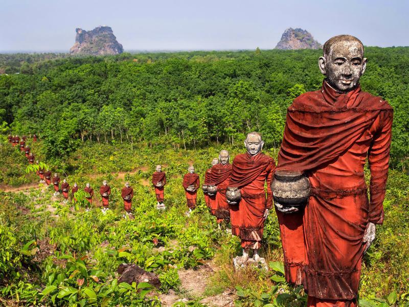 Reise in Myanmar, Myanmar: Faszination des Unbekannten