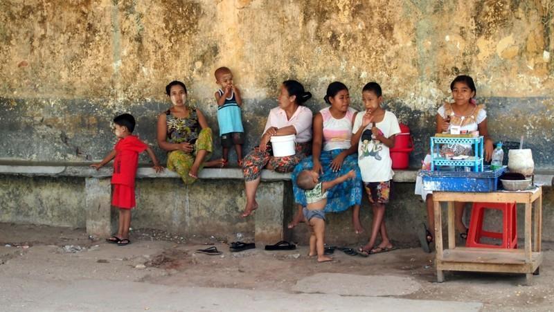 Reise in Myanmar, Unterwegs in Yangon