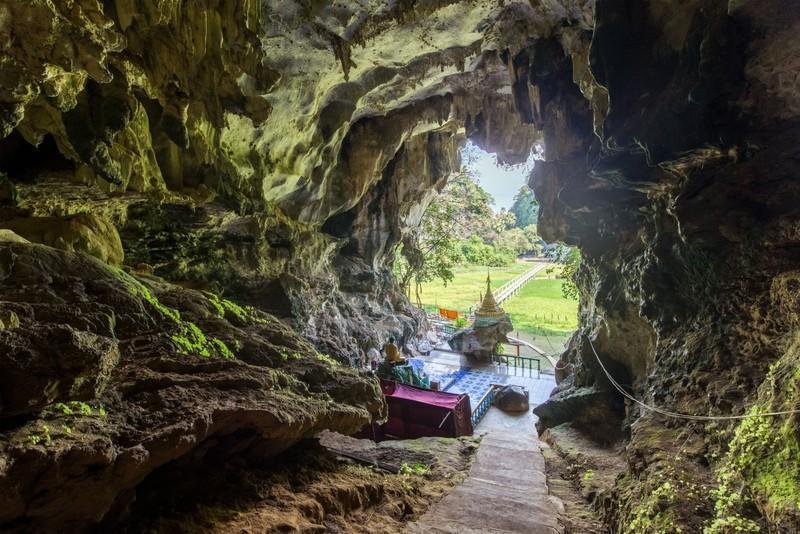 Reise in Myanmar, Die Saddan-Höhle ist eine der größten und eindrucksvollsten Höhlen in Myanmar