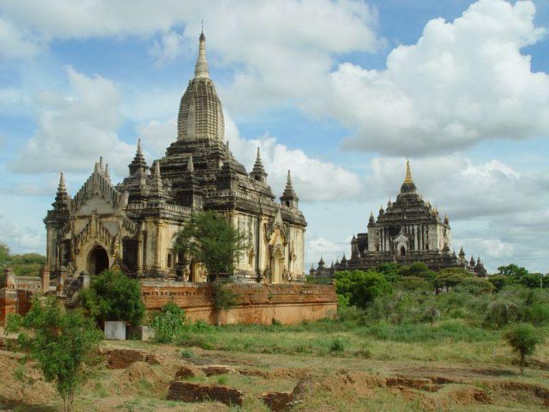 Reise in Myanmar, Der Ananda-Tempel in Bagan