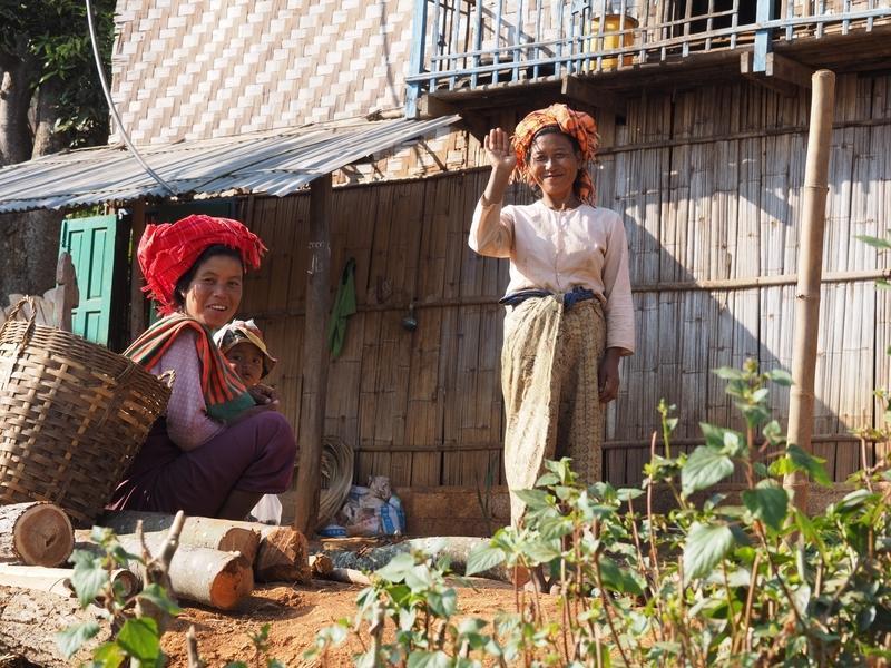 Reise in Myanmar, Landleben in Myanmar