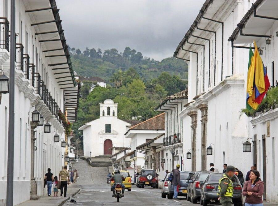 Reise in Kolumbien, Guambiano-Indigena in Silvia
