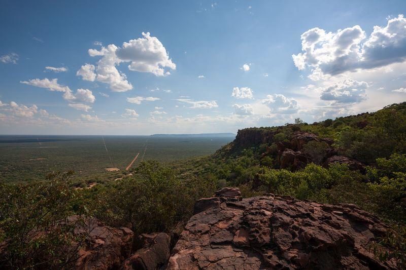 Reise in Namibia, Der Tafelberg Namibias