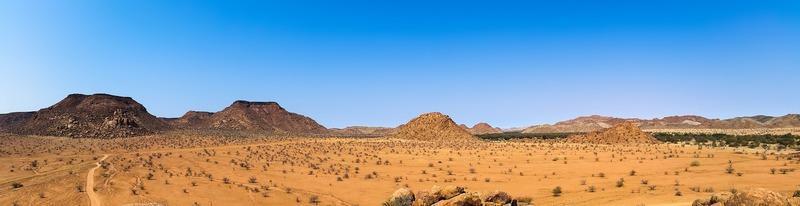 Reise in Namibia, Landschaft in Namibia
