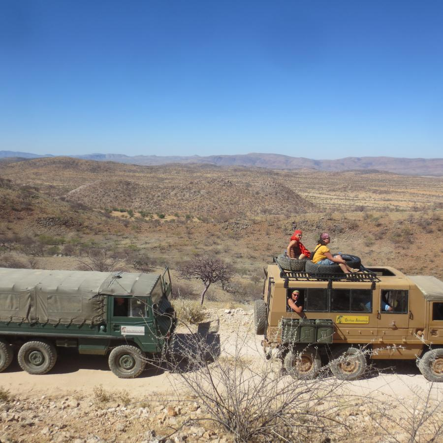 Reise in Namibia, Namibia - Chefs's Spezial II (17 Tage Expedition mit Hüttentrekking & Paddeln)