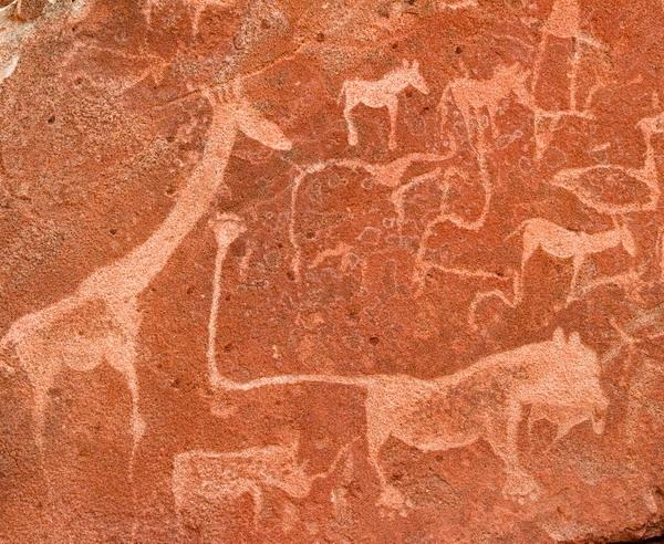 Reise in Namibia, Prähistorische Felsbilder in Namibia