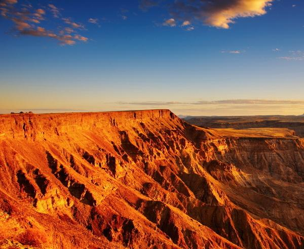 Reise in Namibia, Der imposante Fish River Canyon