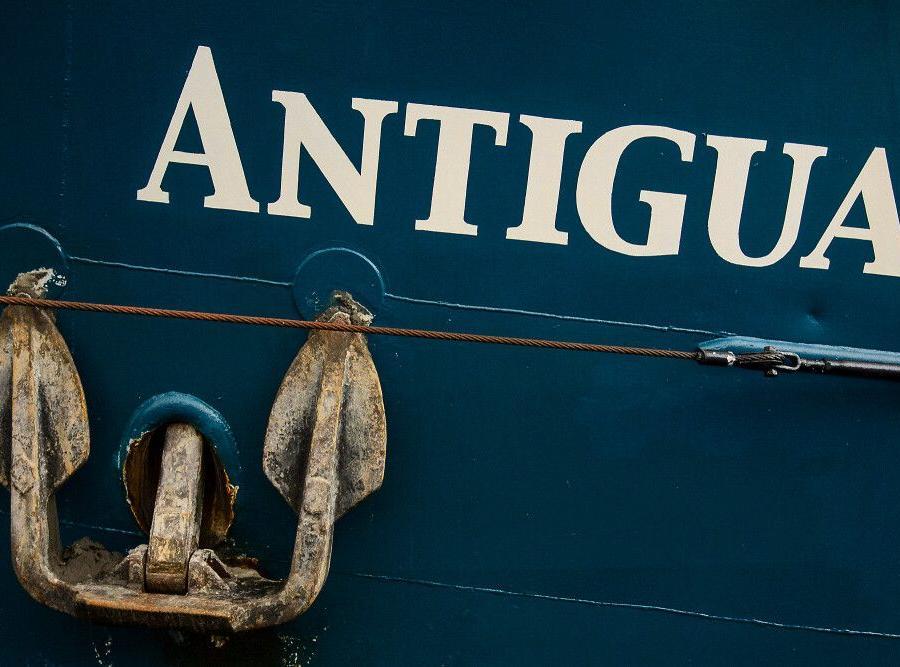 Reise in Arktis, Historischer Segler Antigua