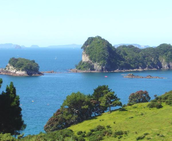 Reise in Neuseeland, Coromandel-Halbinsel