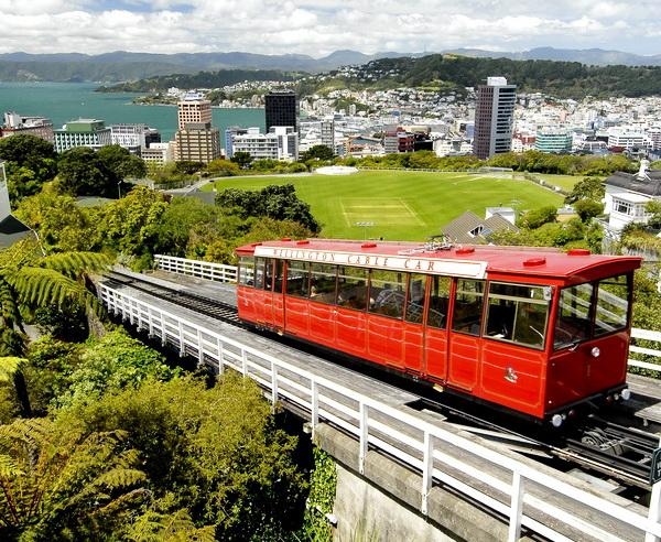 Reise in Neuseeland, Cable Car in Wellington