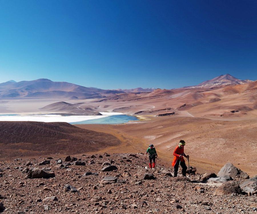 Reise in Chile, Höchste Glücksgefühle auf dem Gipfel des Ojos del Salado, 6893m.