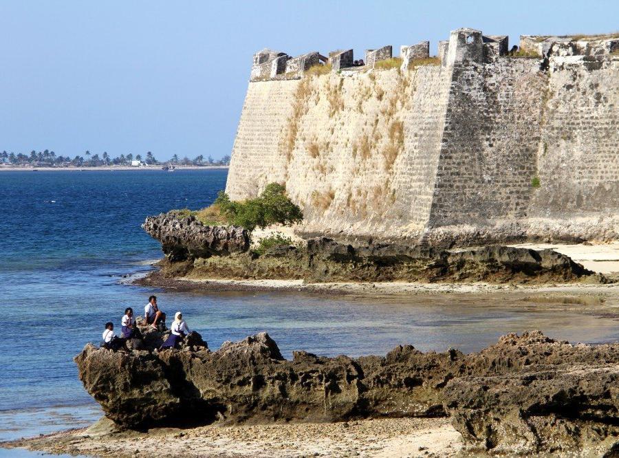 """Reise in Mosambik, """"Fortaleza de São Sebastião"""", Ilha de Moçambique"""
