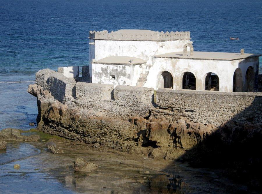 """Reise in Mosambik, """"Capela de Nossa Senhora do Baluarte"""", Ilha de Moçambique"""