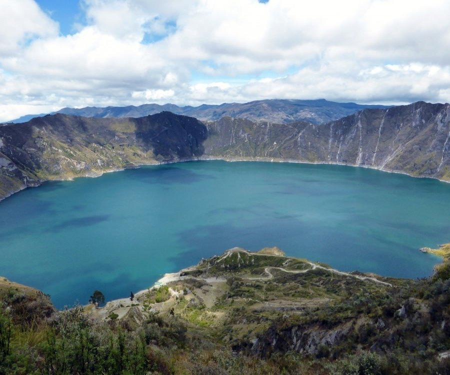 Reise in Ecuador, Lagune Quilotoa