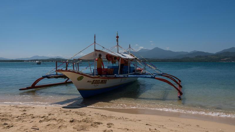 Reise in Philippinen, In der Honda Bay bei Puerto Princesa