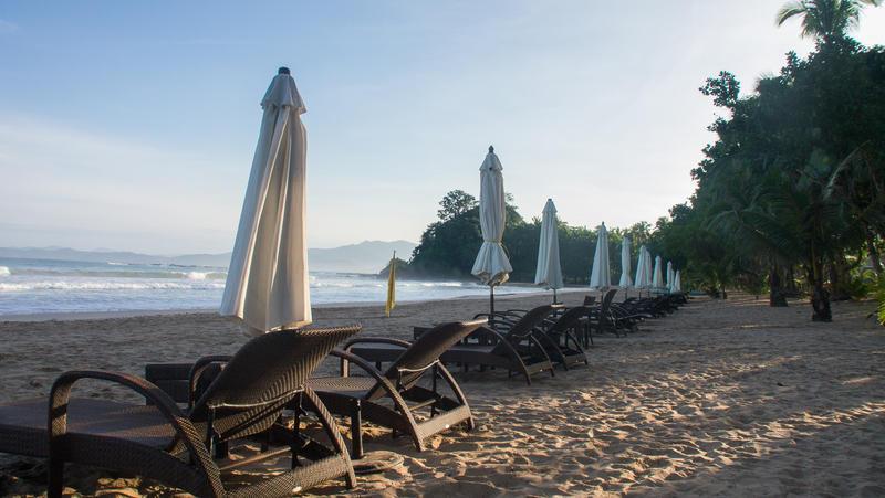 Reise in Philippinen, Strand bei Sabang