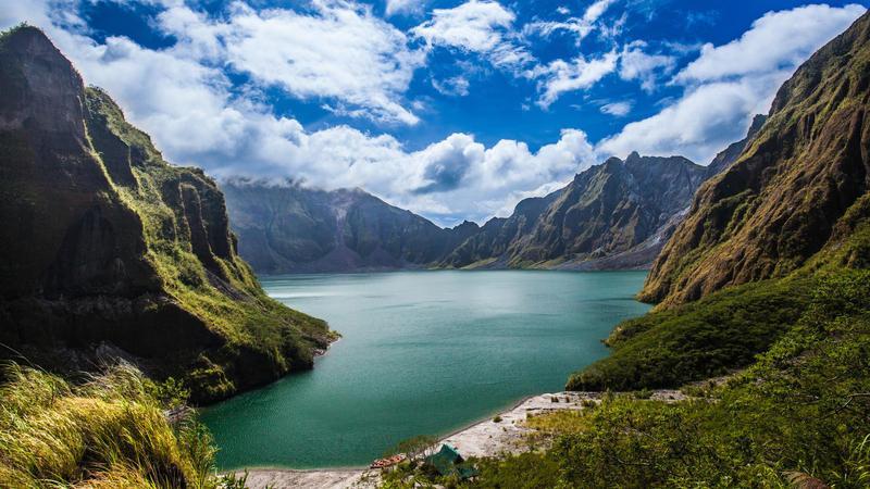 Reise in Philippinen, Wanderung zum Berg Pinatubo
