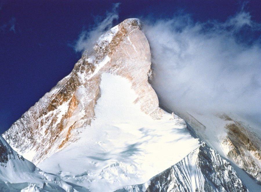 Reise in Kasachstan, Die beeindruckende Pyramide des Khan Tengri.