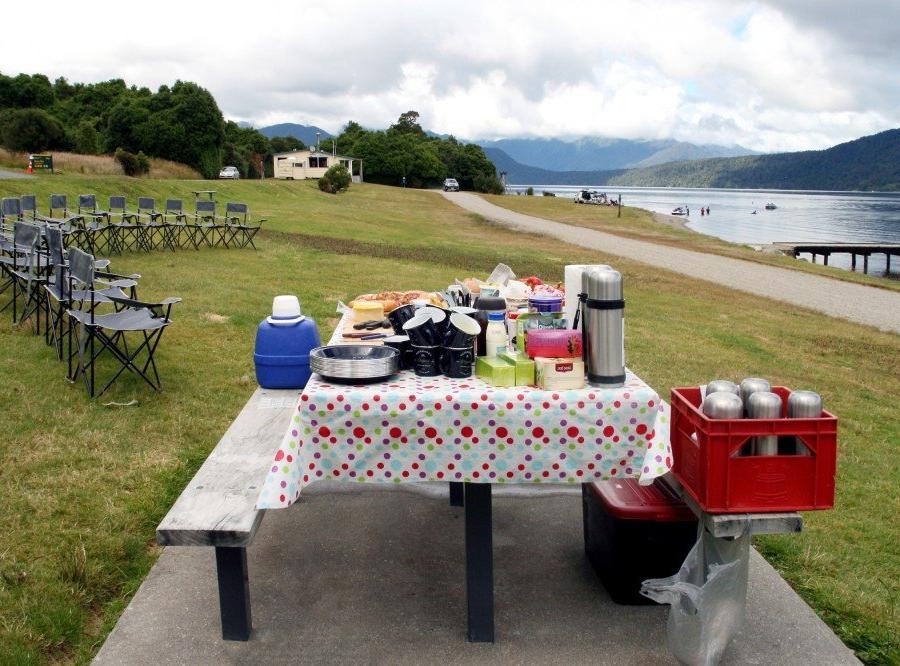 Reise in Neuseeland, Am Fox-Gletscher