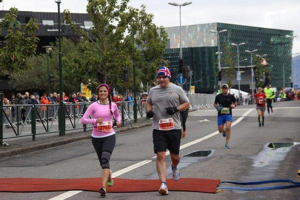 Reise in Island, Reykjavík-Marathon