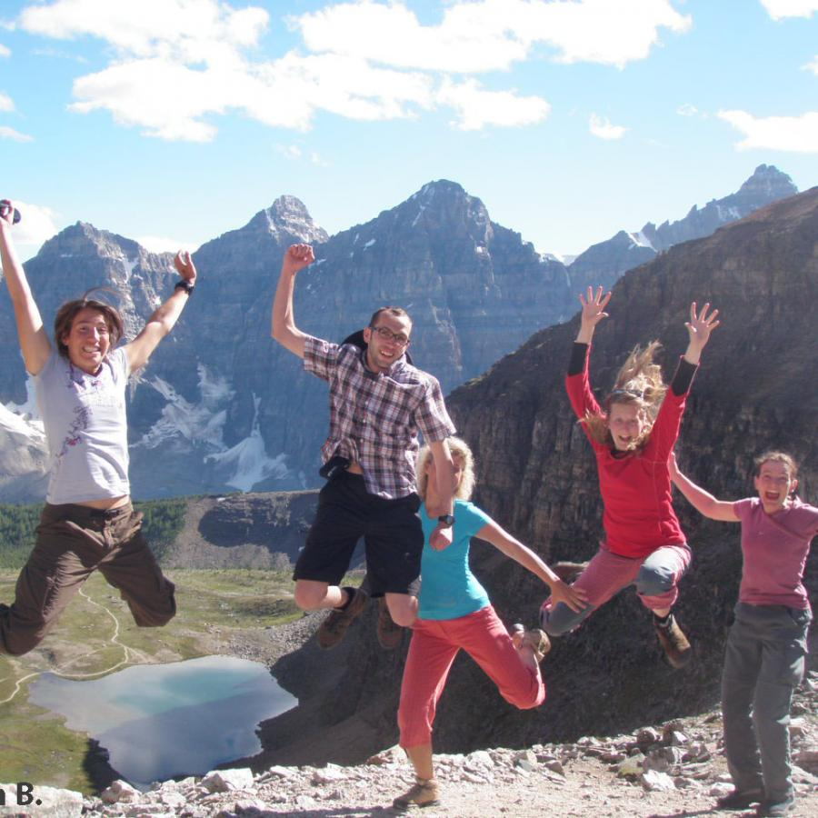 Reise in Kanada, Rocky Mountains for family
