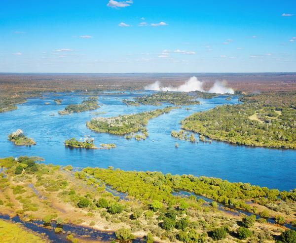 Reise in Südafrika, Der Zambezi Fluss und die Victoria Fälle