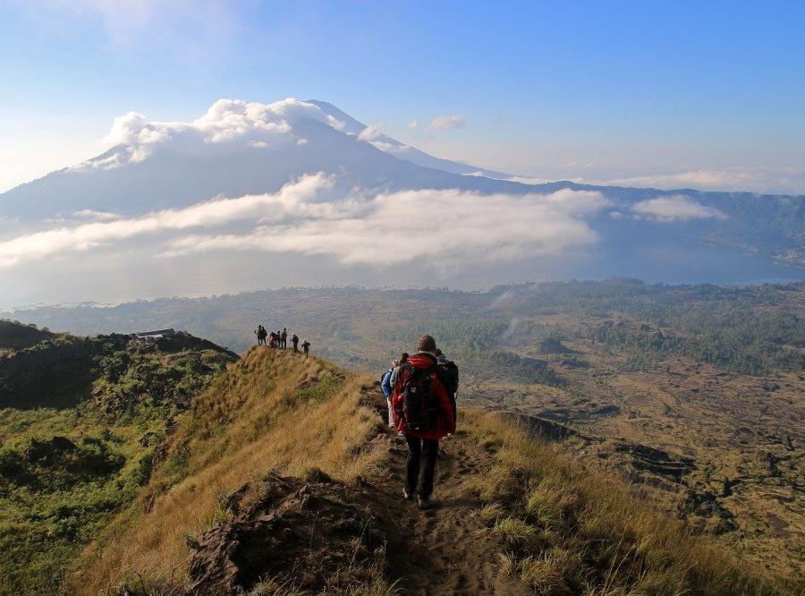 Reise in Indonesien, Mount Batur auf Bali