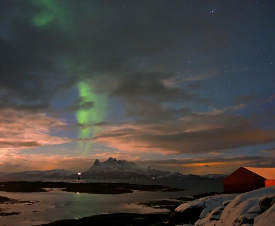 Reise in Norwegen, Nordlicht über Nordnorwegen