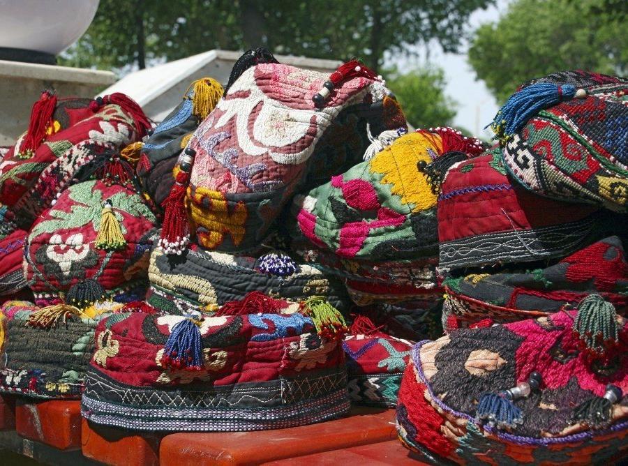 Reise in Usbekistan, Usbekische Mützen