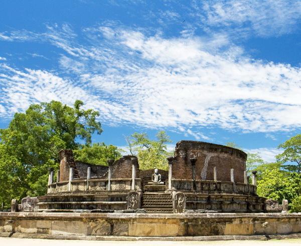 Reise in Sri Lanka, Polonnaruwa Vatadage