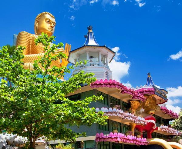Reise in Sri Lanka, Tempel in Dambulla