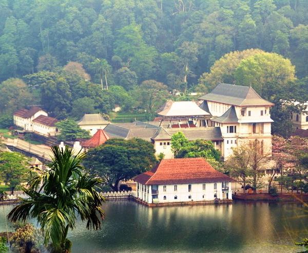 Reise in Sri Lanka, Zahntempel in Kandy