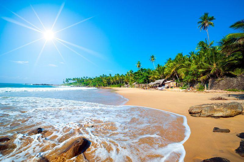 Reise in Sri Lanka, Am Strand von Chilaw an der Westküste lassen wir unsere Rundreise entspannt ausklingen
