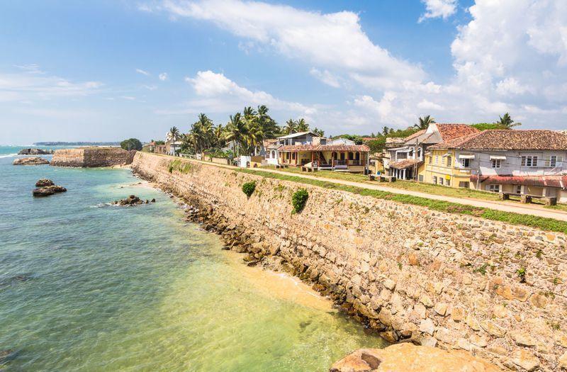 Reise in Sri Lanka, Koloniales Galle Fort an der Südküste Sri Lankas