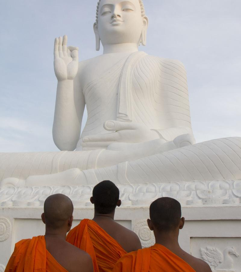 Reise in Sri Lanka, Mönche auf Sri Lanka