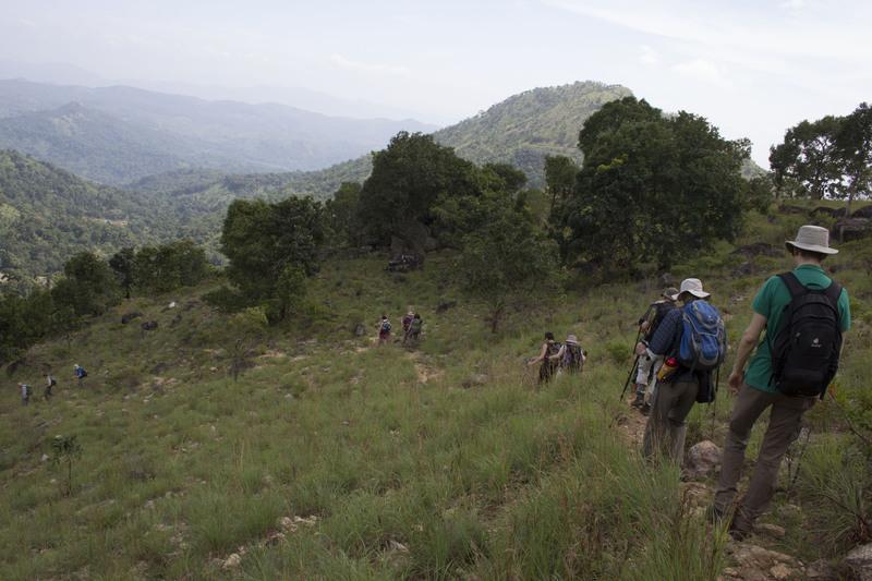 Reise in Sri Lanka, Wanderung in den Knuckles Bergen, Sri Lanka