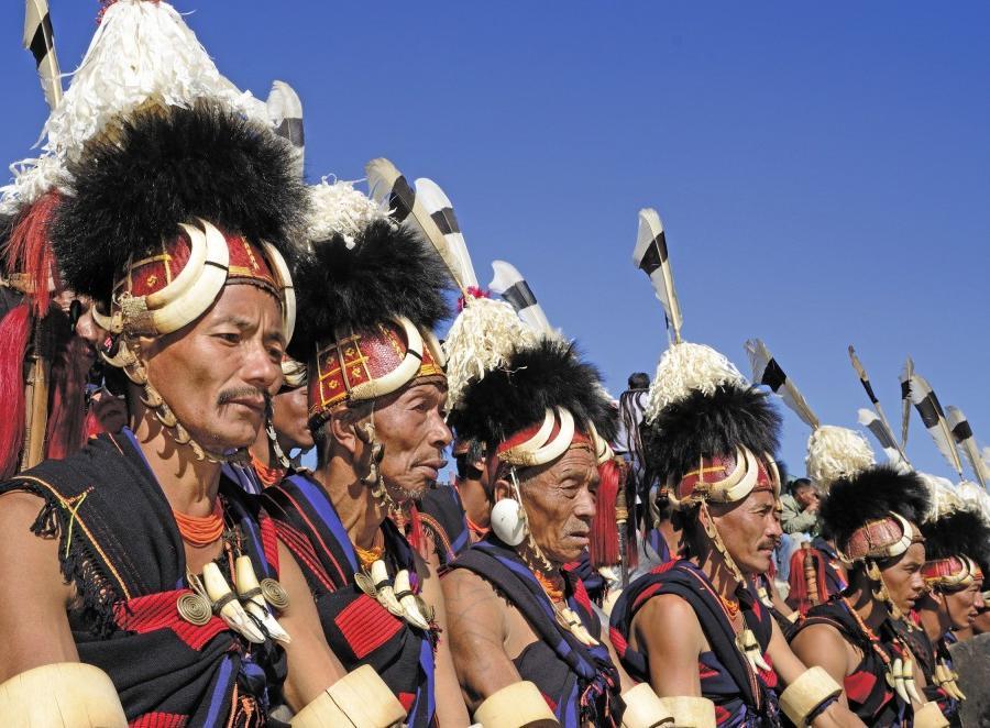 Reise in Indien, Stammeskulturen Nordostindiens Kultur-, Natur- und Safarirundreise