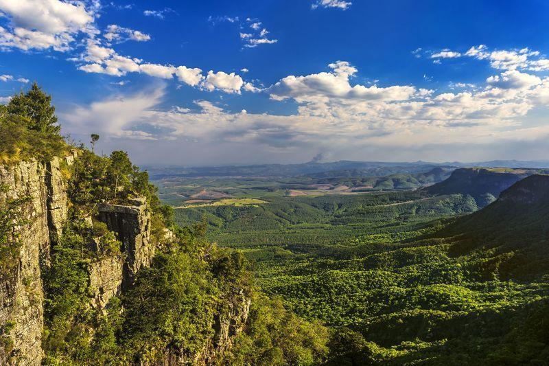 Reise in Südafrika, Panorama Route God's Window @Shutterstock