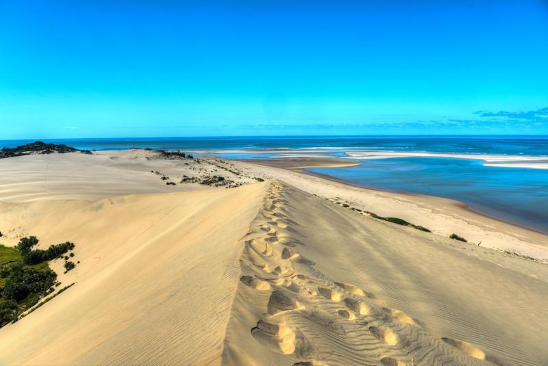 Reise in Südafrika, Dünenlandschaft in Mosambik
