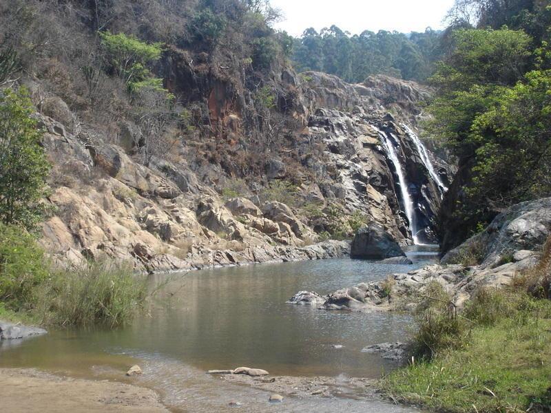 Reise in Südafrika, Wasserfall in Swasiland