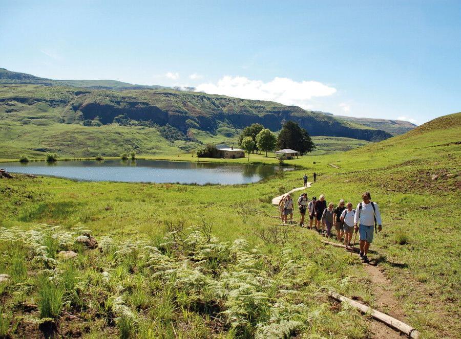 Reise in Südafrika, Wanderung in KwaZulu-Natal