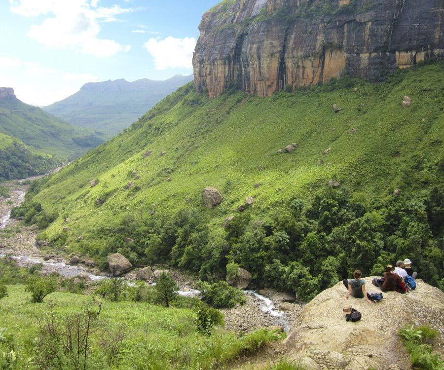 Reise in Südafrika, Royal-Natal-Nationalpark