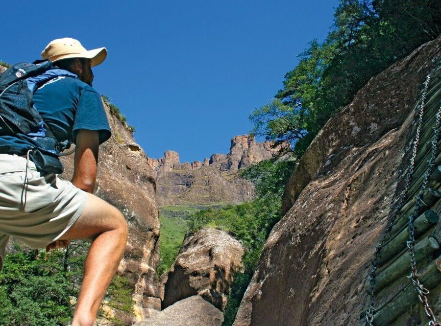 Reise in Südafrika, Wandern in den Drakensbergen